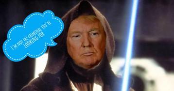 Trump = Jedi? Drunk Shopping Epidemic 8.2.18
