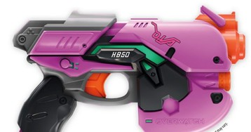 Hasbro Takes The Wraps Off Nerf Blaster For Overwatch's D.Va