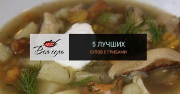 5 лучших супов с грибами