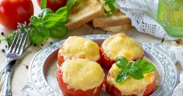 Фаршированные помидоры с мясной начинкой