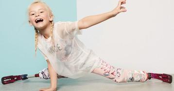 Ее сила — оптимизм: как девочка без ног стала крутой востребованной моделью