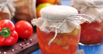 Лечо из помидоров и перцев на зиму