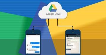 Backup do WhatsApp será ilimitado e não tomará mais espaço no Google Drive