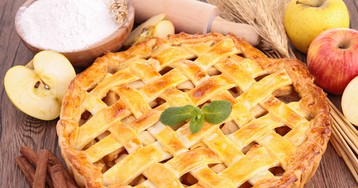 Яблочный пирог от Джейми Оливера