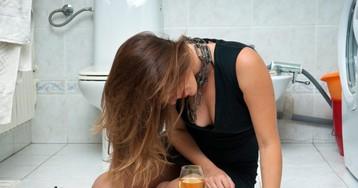 Разъярённая алкогольвица