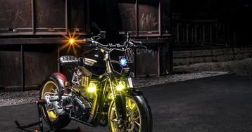 "Triumph's T100 Gets a Futuristic ""Power Street"" Custom Makeover"