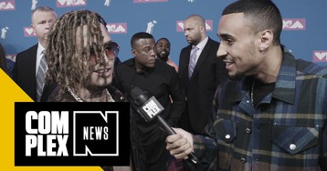 Lil Pump, JuiceWRLD, and More at MTV VMAs Discuss Rapper Basketball Skills and Musical Icons We Lost