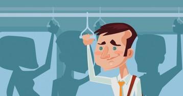 Анекдот про мужика, который распугал всех пассажиров впоезде