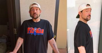 Кевин Смит сбросил вес после инфаркта и превзошёл ожидания врачей. Режиссёра теперь не узнать