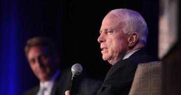 Прощальное письмо Маккейна: историю вершит Америка