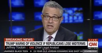 Jeffrey Toobin: Trump's criticism of Antifa is … racist?