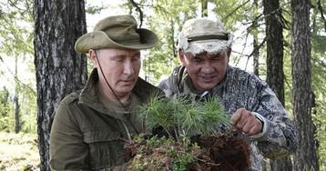 """На новом видео Путин в Туве любовался козерогами, собирая """"салям-далям"""""""