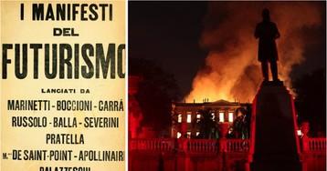 Tautismo Global, sincronismos e ironias no incêndio do Museu Nacional, por Wilson Ferreira