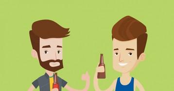 Анекдот про спор двух выпивох отом, укого сон был лучше