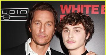 Matthew McConaughey & Richie Merritt Buddy Up for 'White Boy Rick' Premiere