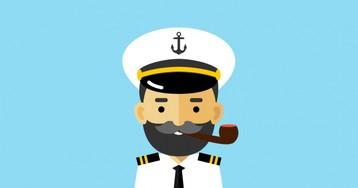 Анекдот про капитана подлодки, пытавшегося узнать координаты