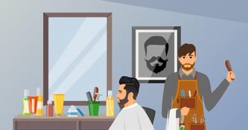 Анекдот про парикмахера, который отговаривал клиента лететь вМоскву