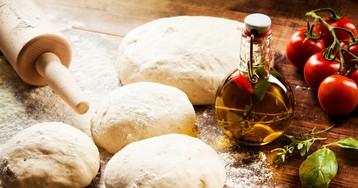 Традиционное тесто для пиццы от Джейми Оливера
