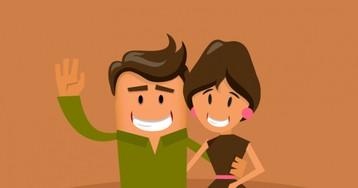 Анекдот про визит молодой пары крадушной хозяйке