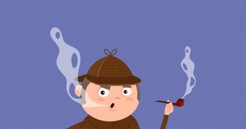 Анекдот про то, как Шерлок Холмс отказал впомощи бедняку