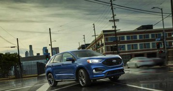 Ford Edge and Edge ST leverage AI for better traction and fuel economy
