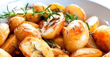 Запеченный картофель по рецепту Джейми Оливера