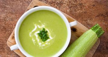 Сливочный суп-пюре из кабачка