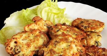 Аппетитные котлетки из курицы и грибов