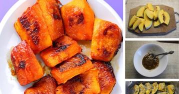 Умопомрачительная тыква с корицей и медом под сырной корочкой: пошаговый фото-рецепт