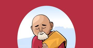 Монах идепрессия