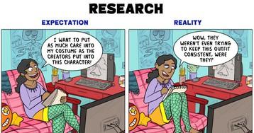 Cosplay: Expectation vs Reality