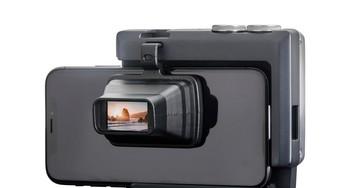 Acessório dá controles (e visor!) de DSLR à câmera do seu smartphone