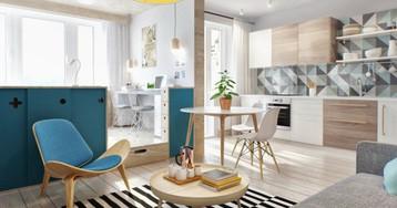 Как оформить маленькую квартиру: советы профи