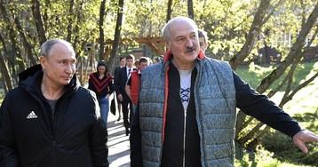 Лукашенко прокатил Путина по малой родине и угостил драниками