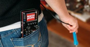 MAKERphone: monte um celular por US$ 89 com esse projeto do Kickstarter