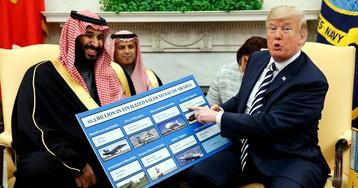 Donald Trump put a $110-billion price on Jamal Khashoggi's life