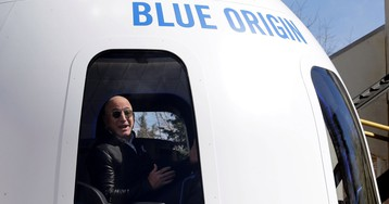 Jeff Bezos says space isn't a race. We're not so sure