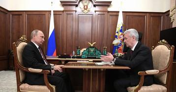 Собянин рассказал Путину о ходе программы реновации