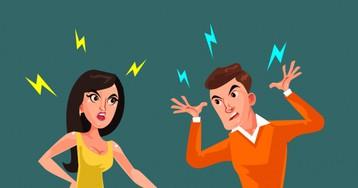 Раздражение супругов