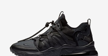 """Nike's Air Max 270 Bowfin """"Triple Black"""" Is Out Now"""