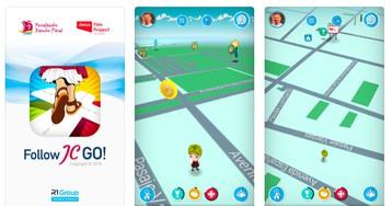 Follow JC Go! — это как Pokemon Go, только про религию и с персонажами из Библии