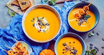 10 тыквенных супов с ярким цветом, вкусом и ароматом