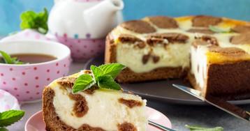 Шоколадно-творожный пирог «Жираф»