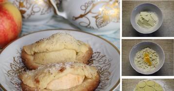 Песочное печенье с яблоком: пошаговый фото рецепт