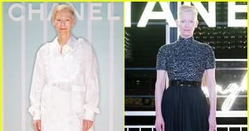 Tilda Swinton Helps Present Chanel's Cruise Collection in Bangkok!