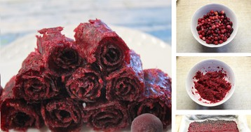 Домашняя фруктовая пастила: пошаговый фото рецепт
