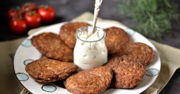 Печень по-алтайски или печёночные оладьи