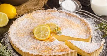 Лимонный тарт от Джейми Оливера