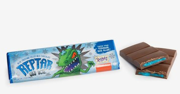 Turn Your Tongue Blue With This 'Rugrats'-Inspired Reptar Chocolate Bar
