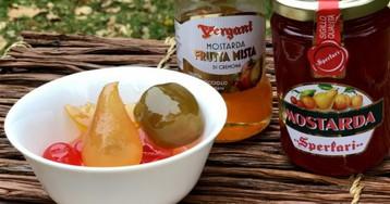 Мостарда, фруктовая горчица из скрипичной столицы Кремоны